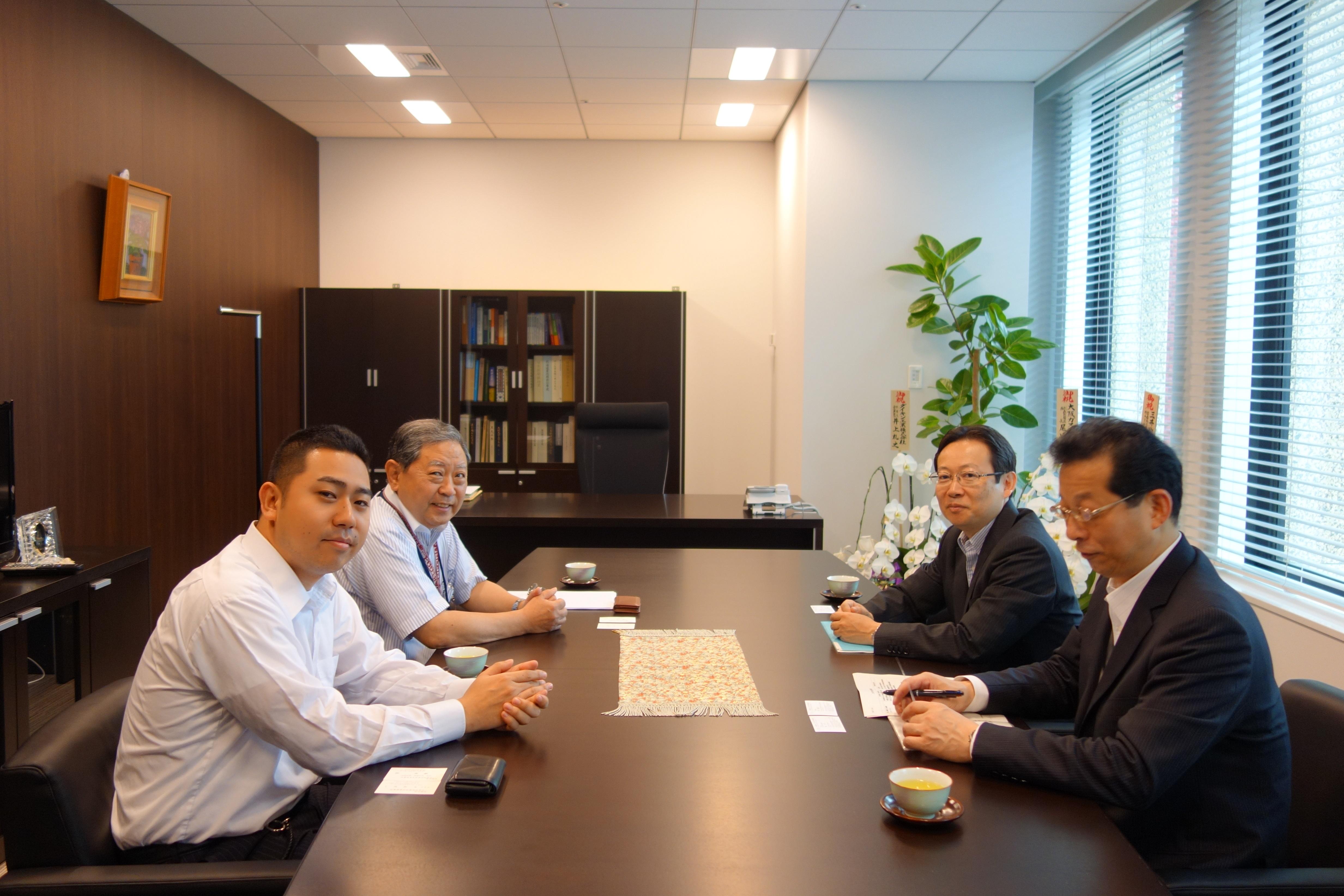 林研究統括が内閣府行政改革関係組織検討準備室と意見交換