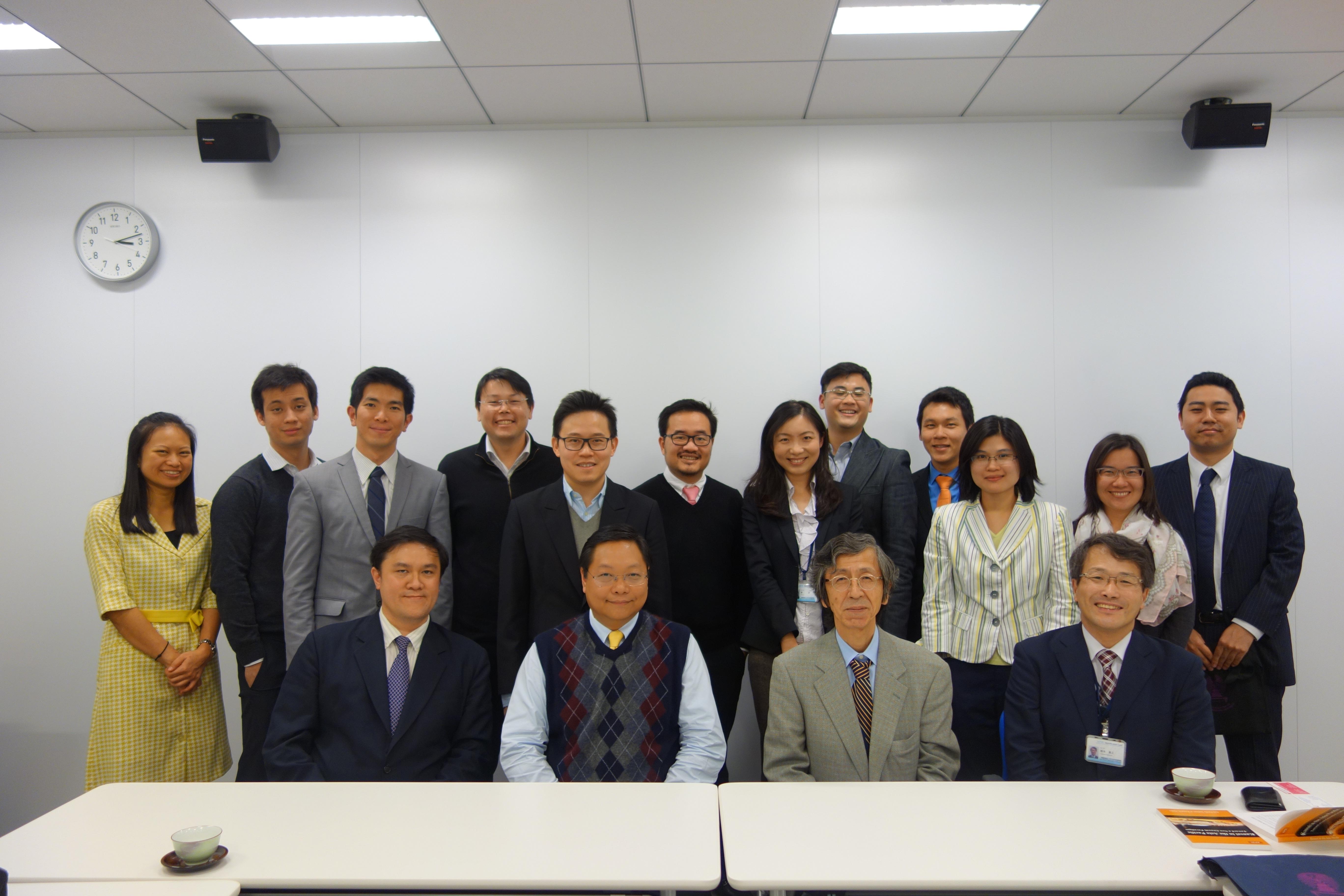 Chulalongkorn大学との意見交換