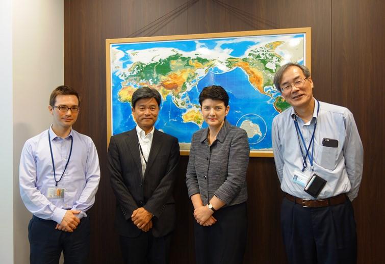 駐大阪オーストラリア総領事がご訪問