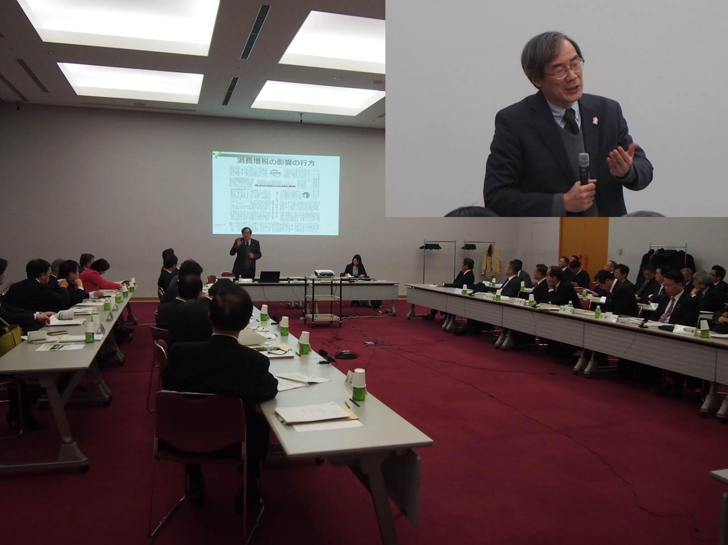 稲田センター長が関西広域連合議会研修で講演