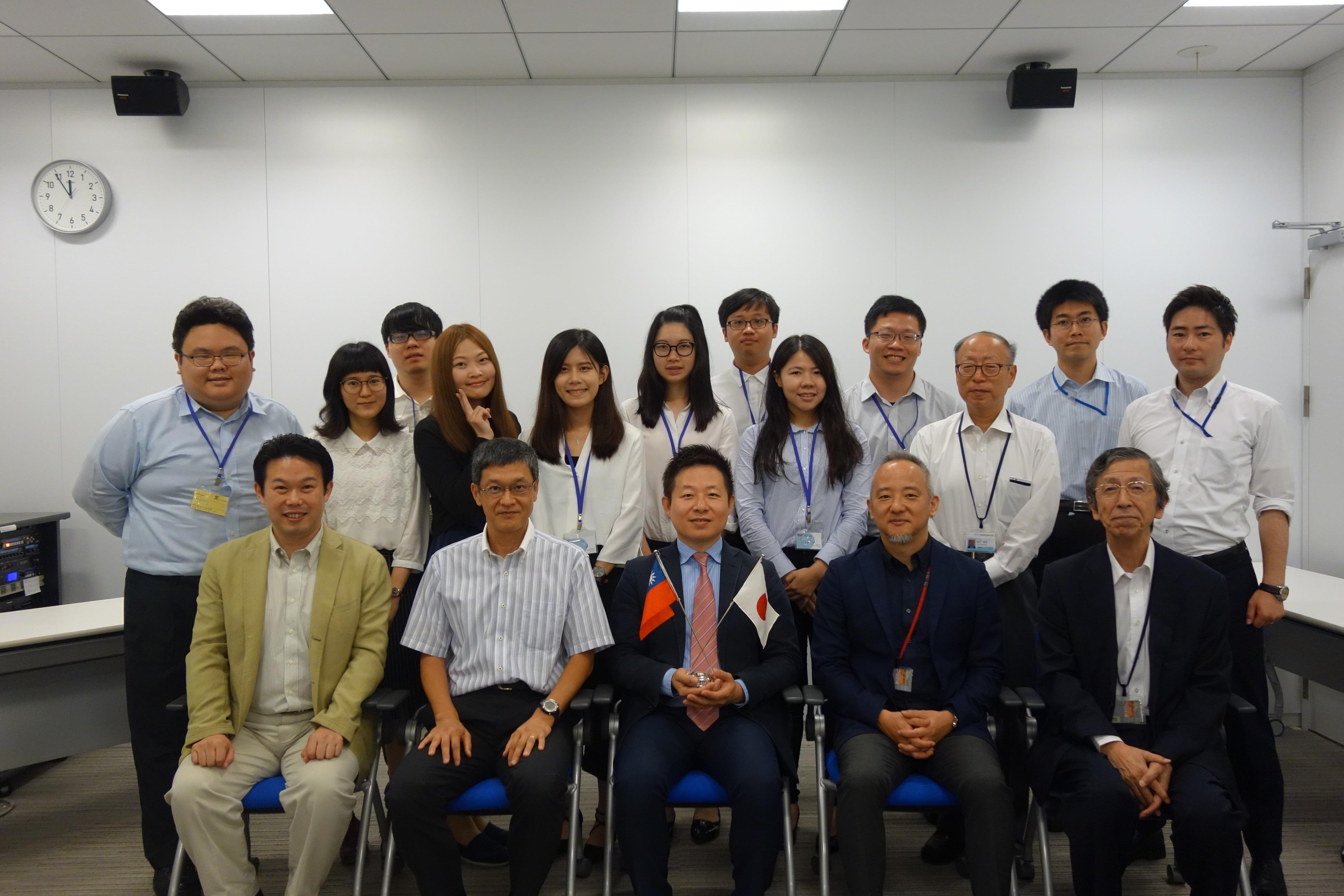 台湾國立政治大学からの訪問受け入れ